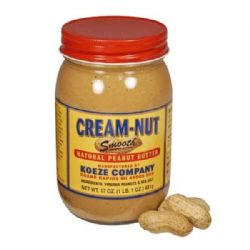 Koeze Cream Nut Smooth Peanut Butter | Artisan | Buy Online | American Food | UK